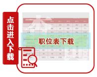2020年重庆公务员考试职位表